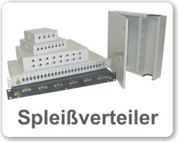 Spleißboxen, Wandverteiler