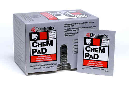 ChemPad cleaningpads IPA-pre-saturated 50 pcs