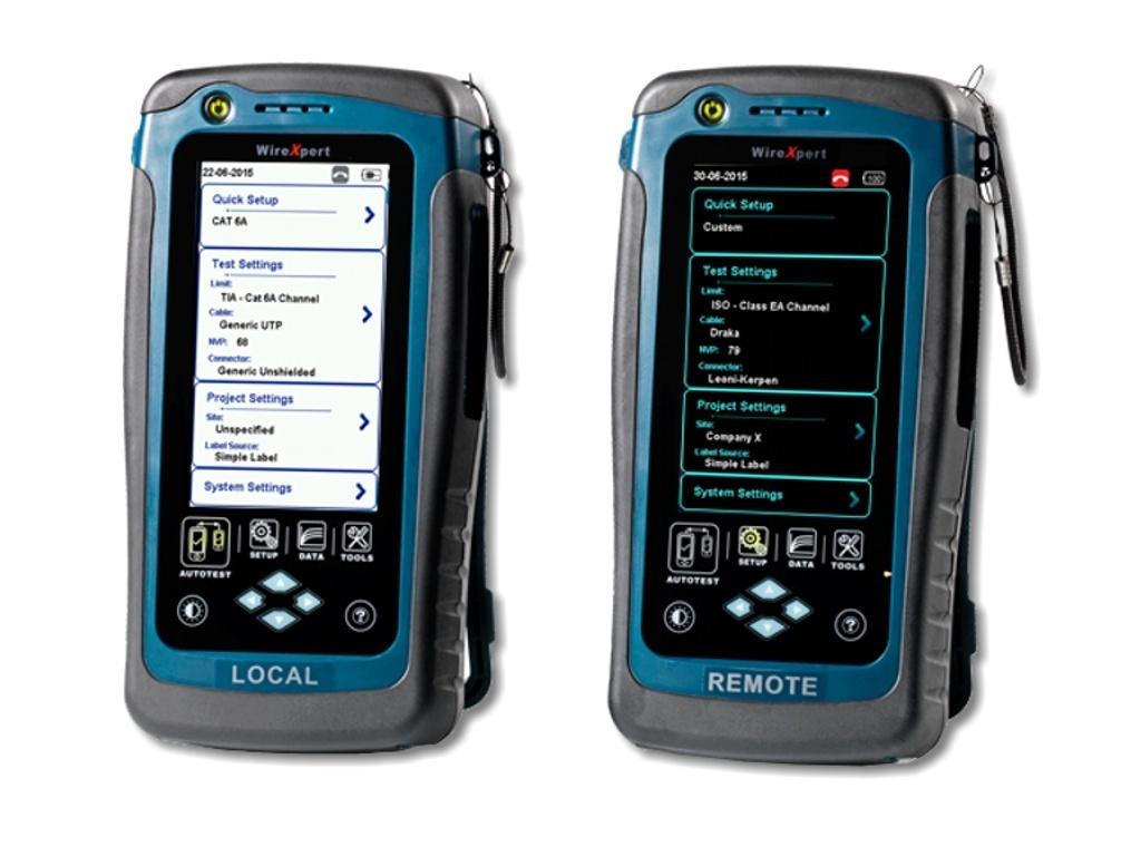 Lan Tester Ficonet Systems Gmbh Wirexpert 500 Kupferkabel Zertifizierer Bis 500mhz