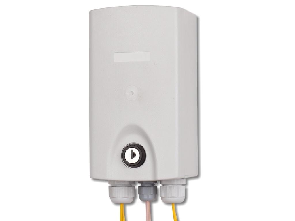 LWL-Hausverteiler Typ 1 für 4x SC duplex - FICONET systems GmbH