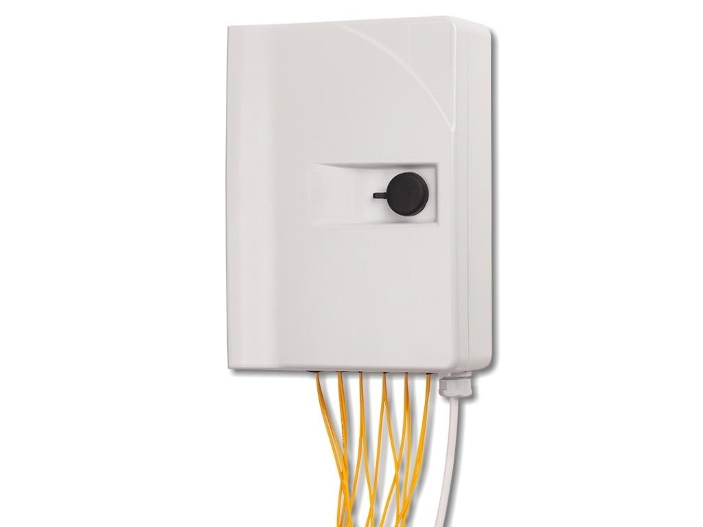 LWL-Hausverteiler Typ 4 für 12x SC simplex - FICONET systems GmbH