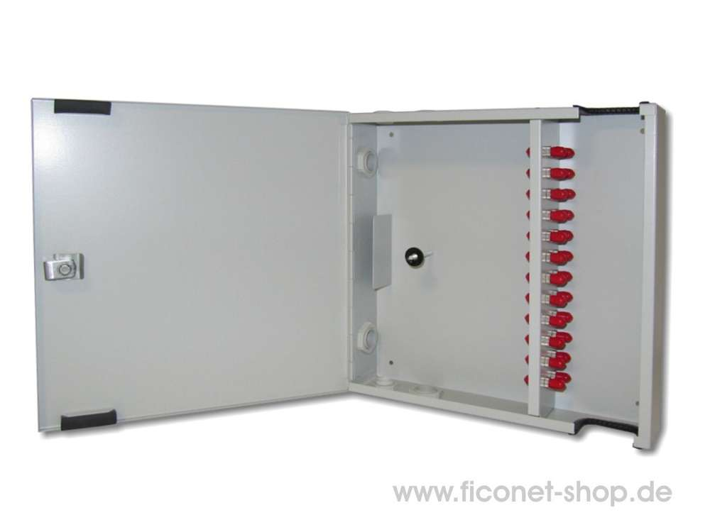 Wall Mounted Enclosure With Lockable Door With 24xst Adaptor