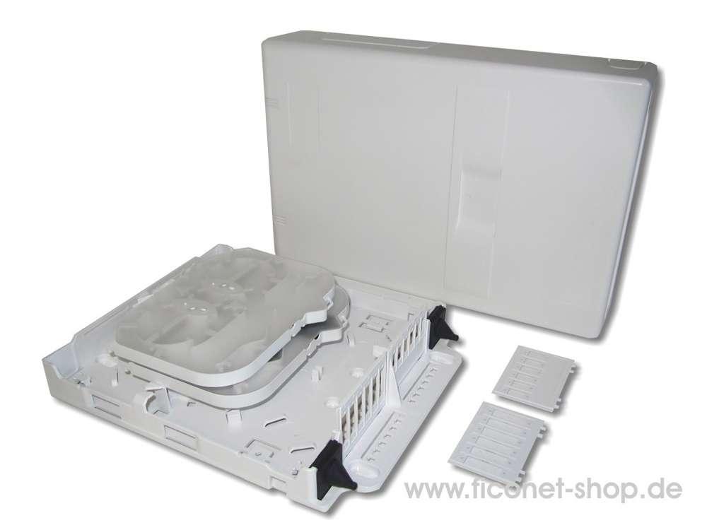 LWL-Hausverteiler Universal für 12x SC simplex oder 12x SC duplex
