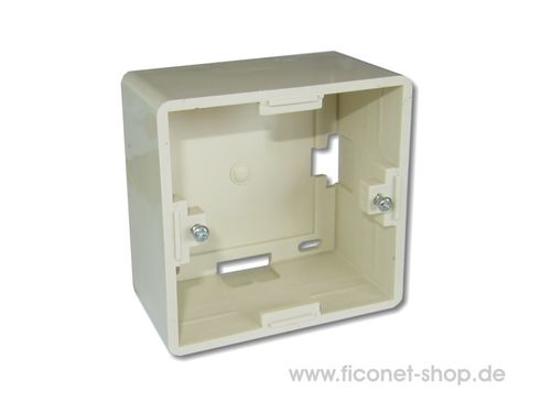 back box RAL1013 (Setec)