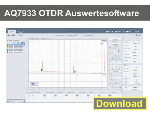 AQ7933 OTDR Auswerte-Software Download