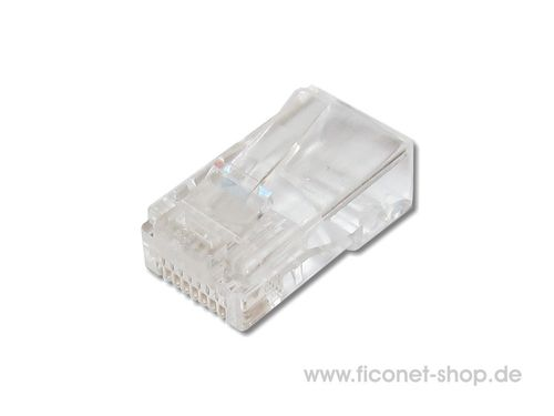RJ45 Stecker Cat.5E ungeschirmt